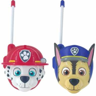 Paw patrol walkie talkies voor jongens/meisjes
