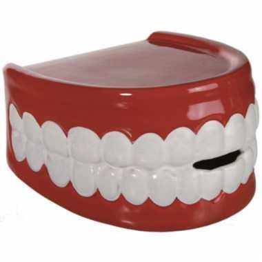 Pensioen kado tandarts spaarpot gebit