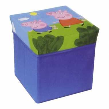 Peppa pig poef/zitje en opbergbox in 1