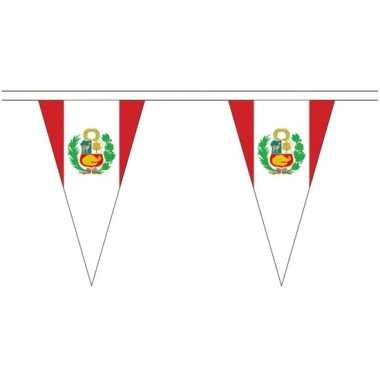 Peru landen punt vlaggetjes 5 meter