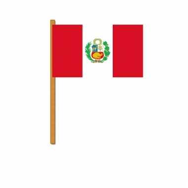 Peru versiering zwaaivlag