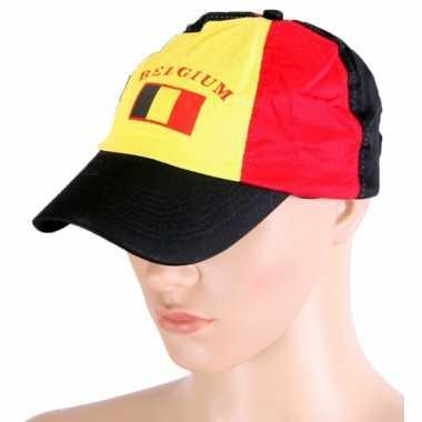 Pet met belgische vlag