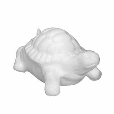 Piepschuim landschildpad 23 cm