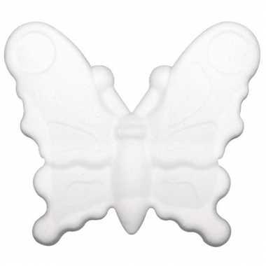 Piepschuimen vlindertje 12,5 cm