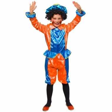 Pietenpakken voor kinderen oranje/blauw