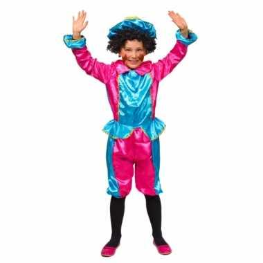 Pietenpakken voor kinderen roze/turquoise