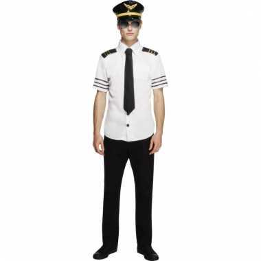 Piloot verkleedset heren