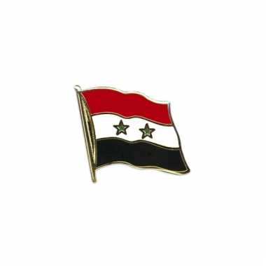 Pin vlaggetje syrie