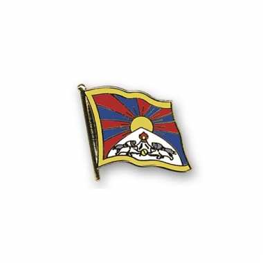 Pin vlaggetje tibet