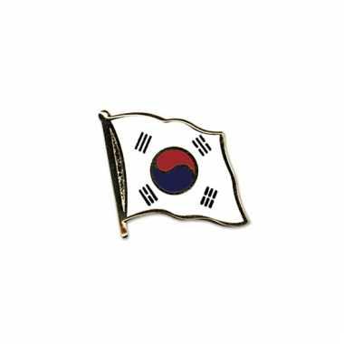 Pin vlaggetje zuid korea