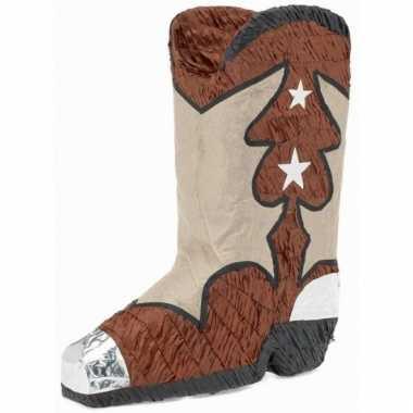 Pinata cowboyschoen 45 cm
