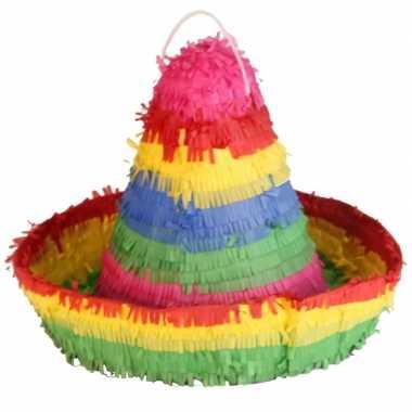 Pinata in sombrero vorm 38 cm