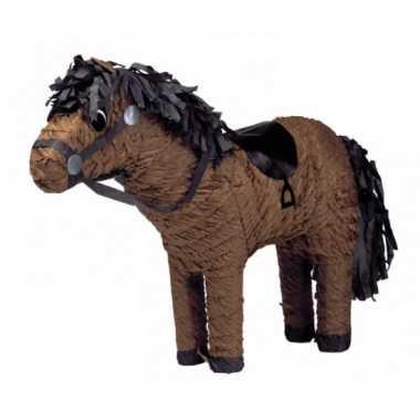 Pinata paard bruin 53 cm