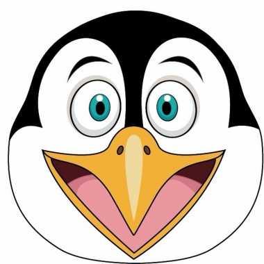 Pinguin maskertjes voor kinderen
