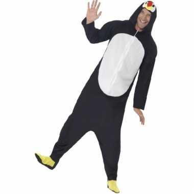 Pinguin onesie voor volwassenen