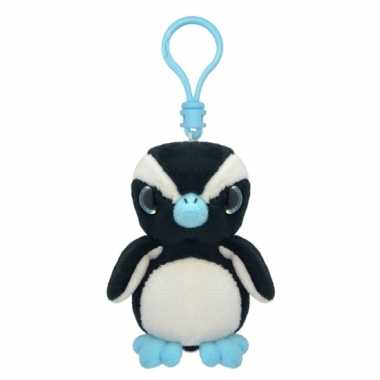 Pinguin sleutelhangertje 9 cm