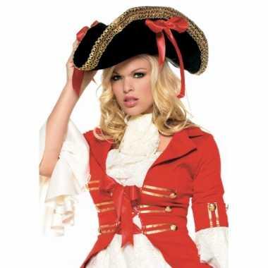 Piraten hoeden voor dames