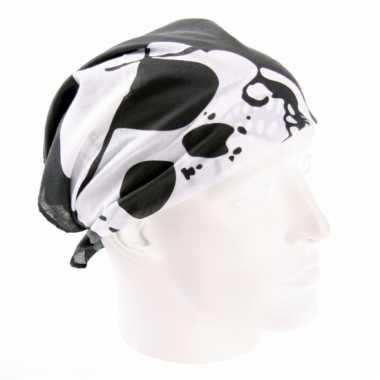 Piraten hoofddoek 54 x 54 cm