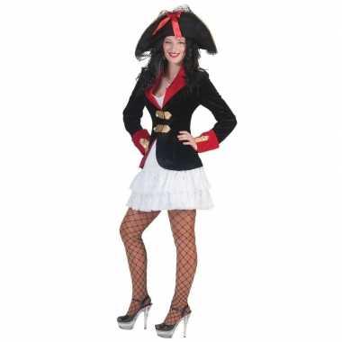 Piraten jurkje en colbert voor dames