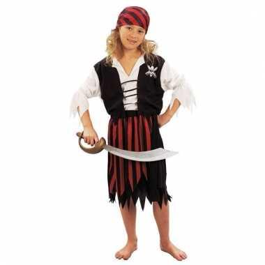 Piraten kostuum voor een meisje