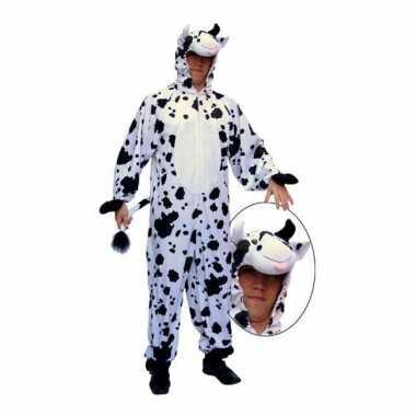 Pluche koeien pakken met rits