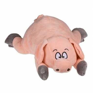 Pluche varken knuffeldier 32 cm