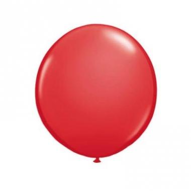 Qualatex rode grote ballon 90 cm