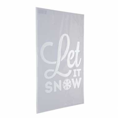 Raamsjabloon let it snow 54 cm type 2