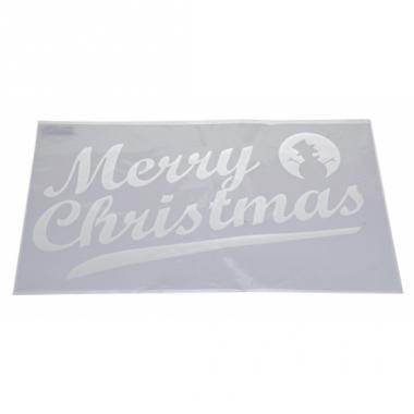 Raamsjabloon merry christmas 54 cm type 2