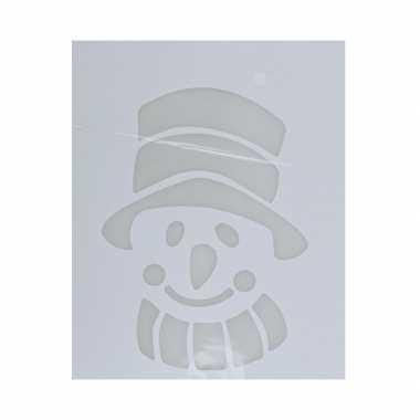 Raamsjabloon sneeuwpop type 2 35 cm
