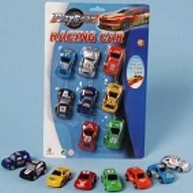 Race auto's 8 stuks