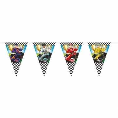 Race/formule 1 thema vlaggenlijn 6 meter