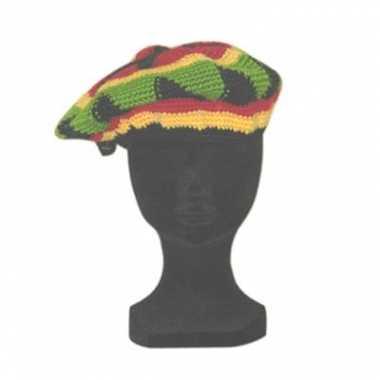 Rasta mutsen jamaicaans