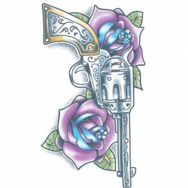 Realistische tatoeage geweer