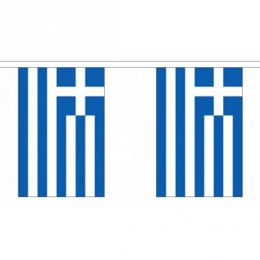 Rechthoekige griekenland vlaggenlijn