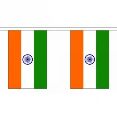 Rechthoekige india vlaggenlijn