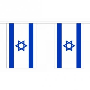 Rechthoekige israel vlaggenlijn