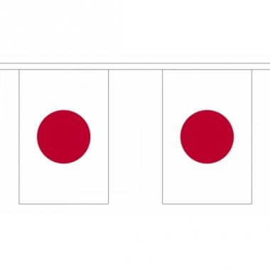 Rechthoekige japan vlaggenlijn