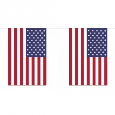 Rechthoekige usa vlaggenlijn