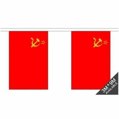 Rechthoekige ussr vlaggenlijn