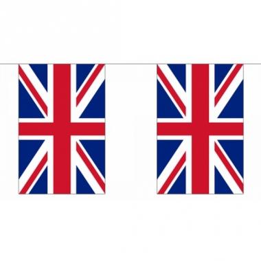 Rechthoekige vlaggenlijn groot-brittannie