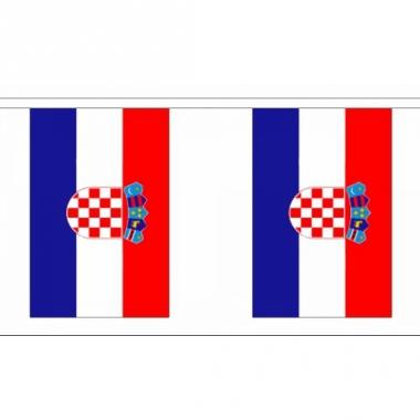 Rechthoekige vlaggenlijn kroatie