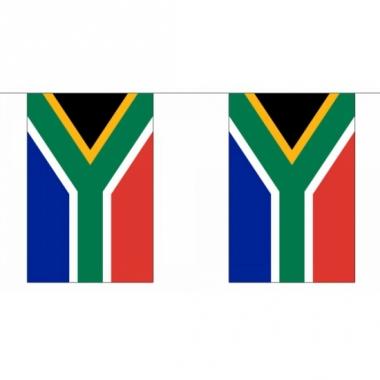 Rechthoekige vlaggenlijn zuid afrika
