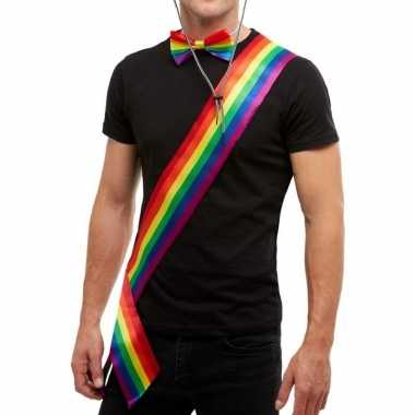 Regenboog sjerp voor volwassenen