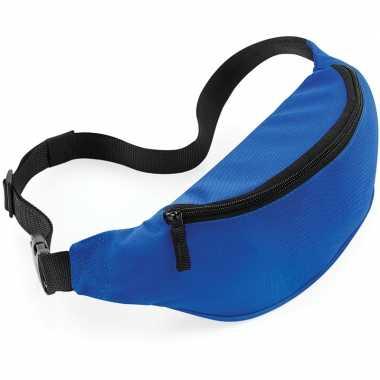 Reistasjes verstelbaar blauw 38 cm