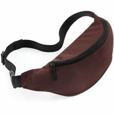 Reistasjes verstelbaar bruin 38 cm