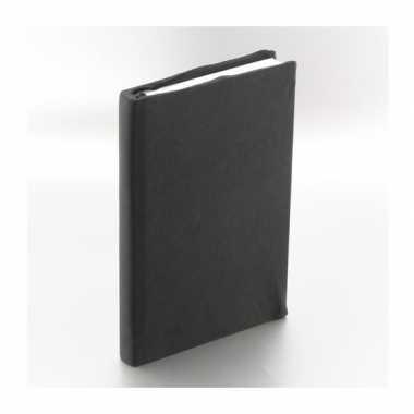 Rekbare schoolboeken hoes zwart a5