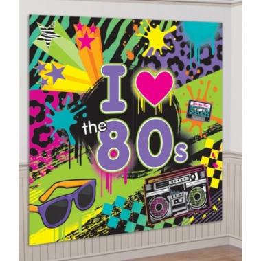 Retro scene setter jaren 80