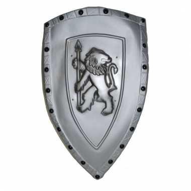 Ridder schild zilverkleurig