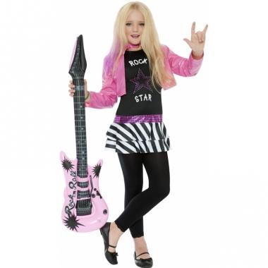 Rocker kostuum voor meiden